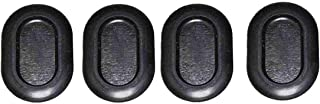 Upper Bound 4 Floor Drain Plugs Compatible with 1999-2006 Jeep Wrangler TJ - 2