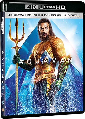 Aquaman 4k Uhd [Blu-ray]