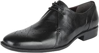 Salt N Pepper Parker Black Leather Men Formal Lace Up Shoes
