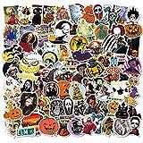 Funny Halloween Stickers 150PCS Decal Terrorist Sticker Pack for Teens Computer Waterproof Laptop Decor Thriller Stickers