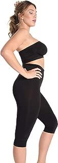 SlimMe High Waist Tummy Control Capri Shaper | Shapewear