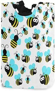 Mignon abeilles à miel panier à linge panier à linge sale sac à vêtements dessin animé abeille pliable seau poubelle à lav...