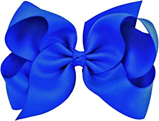 royal blue bows for hair