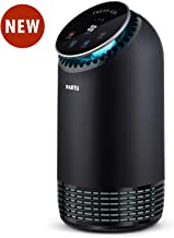 PARTU Air Purifier for Home Allergies and Pets Dander HEPA Filter with Activated Carbon Air Cleaner, Removes Allergies, Smoke, Dust, Pollen, Odor, Germs, Mold, No Ozone (Available for California)