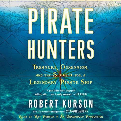 Pirate Hunters audiobook cover art