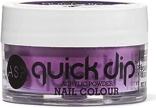 ASP Quick Dip Acrylic Powder Nail Colour - Electric Purple 1.6oz