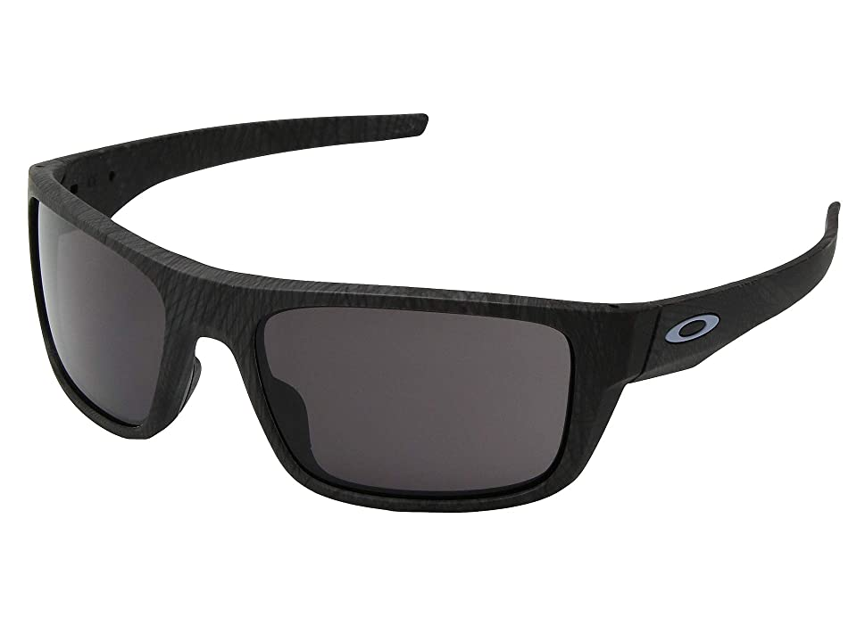 Oakley Drop Point (Aero Grid Grey w/ Warm Grey) Sport Sunglasses, Black