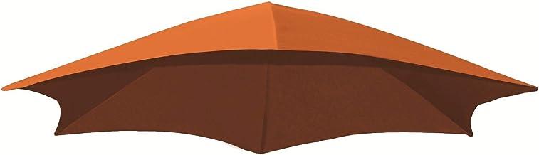 Vivere Dream Series Replacement Umbrella Fabric, Orange Zest