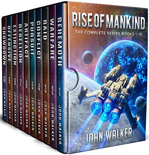 Rise Of Mankind: The Complete Series Books 1-10 (John Walker Box Sets) (English Edition)