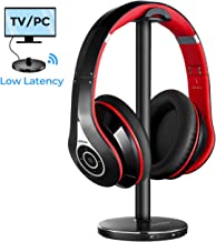[Actualidad] Mpow 059 Auriculares Inalámbricos para TV con Transmisor Bluetooth, Cascos Bluetooth TV con 20Hrs, Hi-Fi Estéreo, Low Latency para TV, PC, AV Receptor, Móviles, Juegos