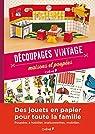 Découpages vintage, maisons et poupées par Gaidon