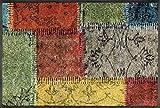 Wash+Dry 083115 Felpudo, Acrílico, Multicolor, 75 x 50 x 0.7 cm