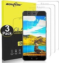 NONZERS Vetro Temperato per Huawei P10 [3 Pezzi], HD Trasparente, Durezza 9H Anti-Graffo, Senza Bolle, Anti-Olio, Anti Impronte Digitali Protezione dello Schermo per Huawei P10
