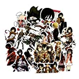 NOBRAND 40Pcs / Graffiti Stickers Japan Anime para Equipaje Laptop Skateboard Car Bicycle Backpack PVC Decal 5cm