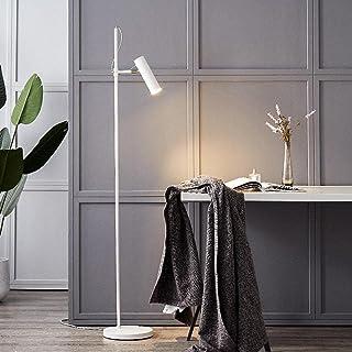 Lampadaire LED réglable noir/blanc minimaliste moderne nordique créatif télécommande gradation des lampadaires en métal po...