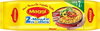 Maggi 2 Minutes Noodles Masala, 560g- maggi real taste Indian snack