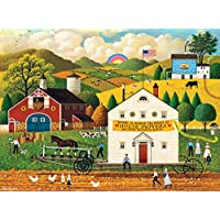 1000-Pieces Buffalo Games Charles Wysocki House Movers Jigsaw Puzzle