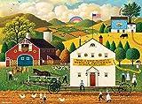 Buffalo Games - Charles Wysocki - House Movers - 1000 Piece Jigsaw Puzzle