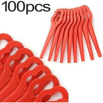 10pcs Plastic Cutter Blades For Stihl Polycut-2-2-FSA-45-Lawnmower Trimmer