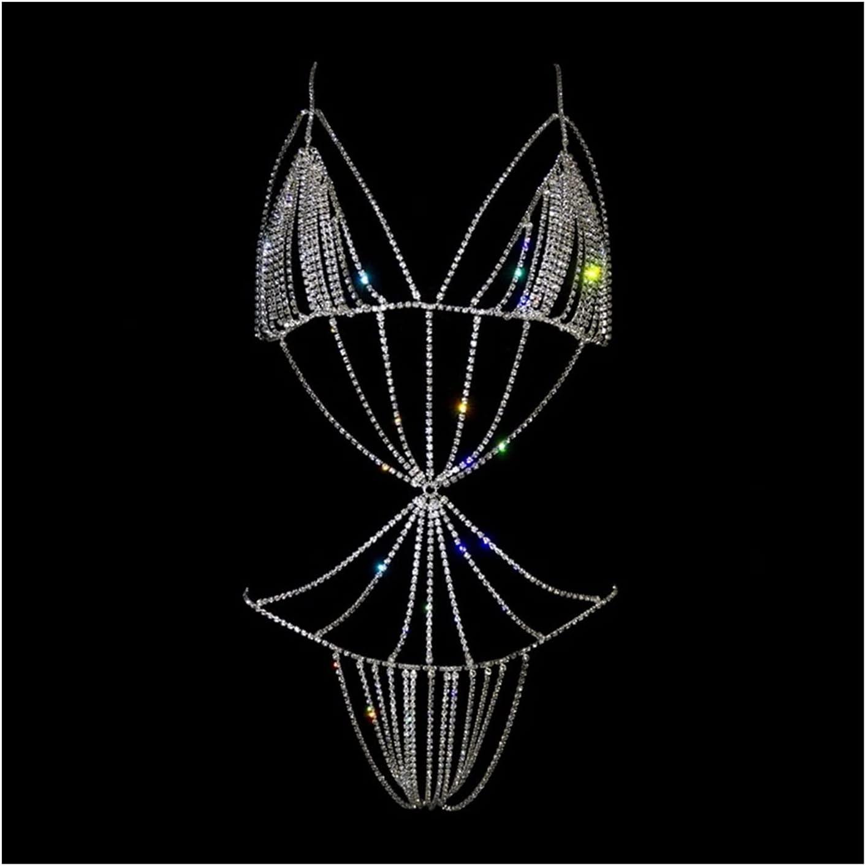 XYMJ Super popular specialty store Handmade Body Chain Crystal Large discharge sale Bodysuit Rhinestone