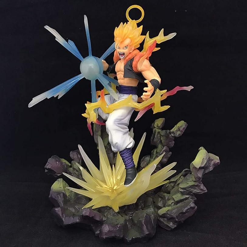 アイザックミュージカル黄ばむアニメドラゴンボールモデル、子供向けおもちゃコレクションスタチュー、卓上装飾玩具スタチュー玩具モデルPVCベット(18.5cm) SHWSM