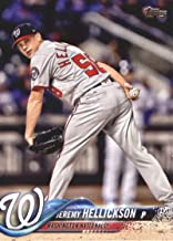 2018 Topps Update and Highlights Baseball Series #US92 Jeremy Hellickson Washington Nationals Official MLB Trading Card