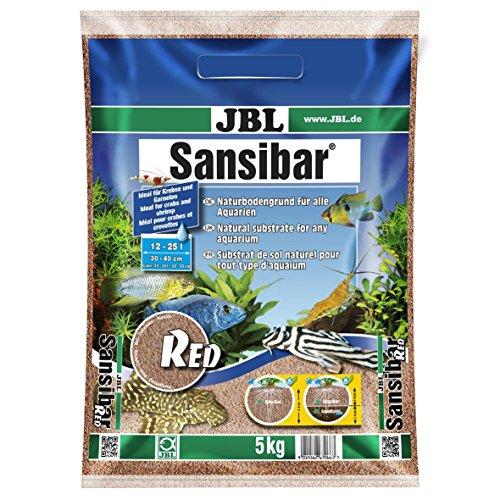JBL Sustrato para acuarios Sansibar red, 5kg