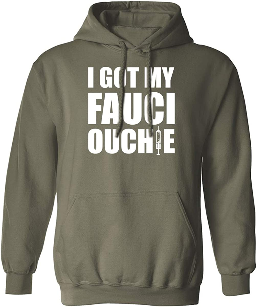 I Got My Fauci Ouchie Adult Hooded Sweatshirt