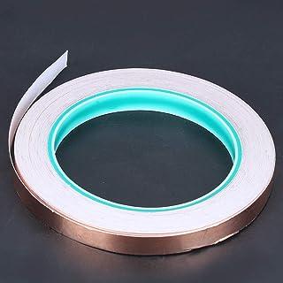 Antistatische Hittebestendige Koperfolie Tape Stralingsbescherming Dubbelzijdig 10mm * 20m voor Transformator Computer