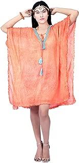 cosynee Shoulder Trendy Beach Caftan Kaftan Loungewear Short Dress Women Cover-ups, Swimwear, Kaftan