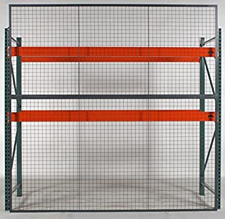 Wirecrafters - RackBack Wire Mesh Pallet Rack Enclosure - Back Panel 96