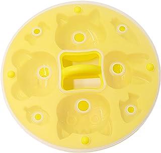 XLanY Mignon Mini Drôle Bricolage 3D Fleurs Silicone Moule Antiadhésif avec Couvercle, Mini Tube De Cuisson Réutilisable M...