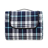 Extra Large Picnic & Outdoor Blanket with Waterproof Backing (80' X 80')