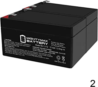 Mighty Max Battery 12V 1.3Ah SLA Battery Replaces Linear RE-2 Telephone Entry System - 2 Pack Brand Product