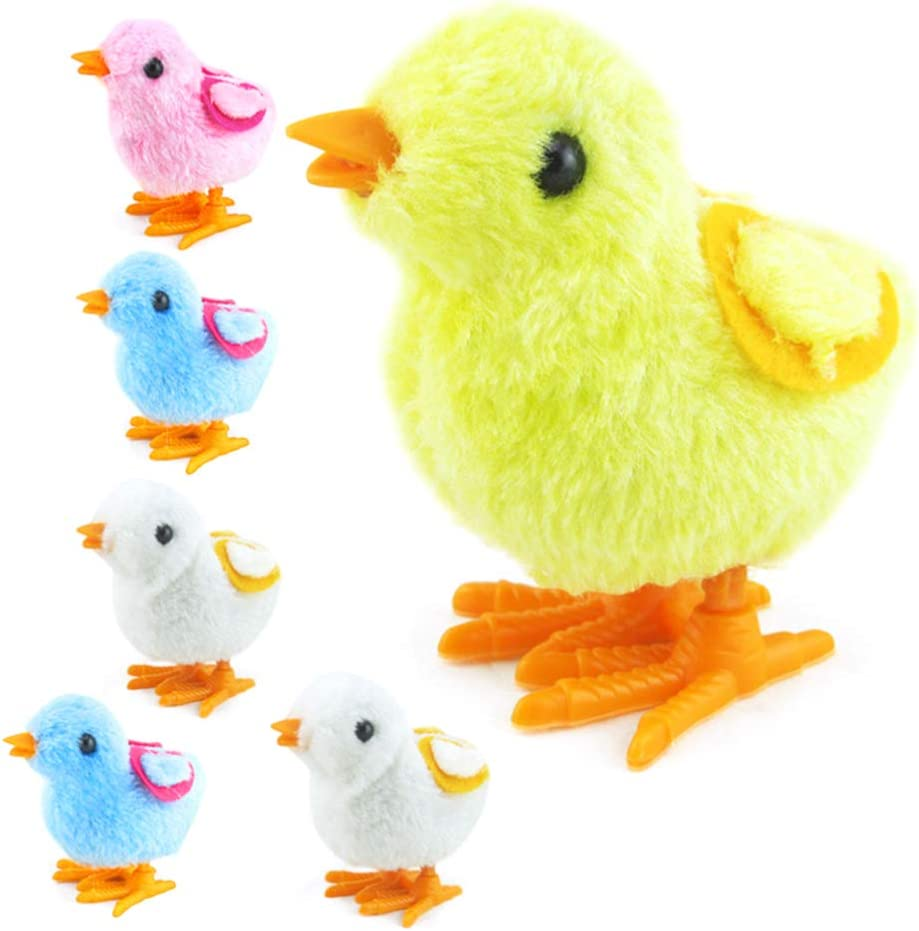 NUOBESTY Wind Up Toys Chicken Jumping Walking Kid Recommended Outlet sale feature for Plush