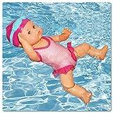 99AMZ Kinder Wasserspielzeug für die Badewanne, Interaktive Elektrische Schwimmpuppe Baby Puppe mit...