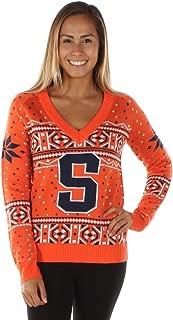 syracuse university ugly christmas sweater
