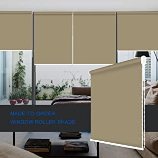 ZY Blinds Sun Shading Roller Shades Custom Made Any Size from 20-78inch Wide UV Protection Enery Saving Window Shades Blinds for Home, Hotel, Club, Restaurant 69