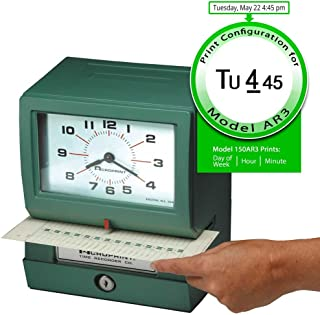 acroprint time clock losing time