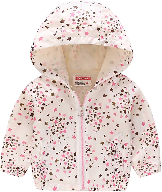 Toddler Baby Girls Boys Hoodie Jacket Coat Winter Warm Cute Cartoon Cardigan Newborn Zipper Up Outwear Coat
