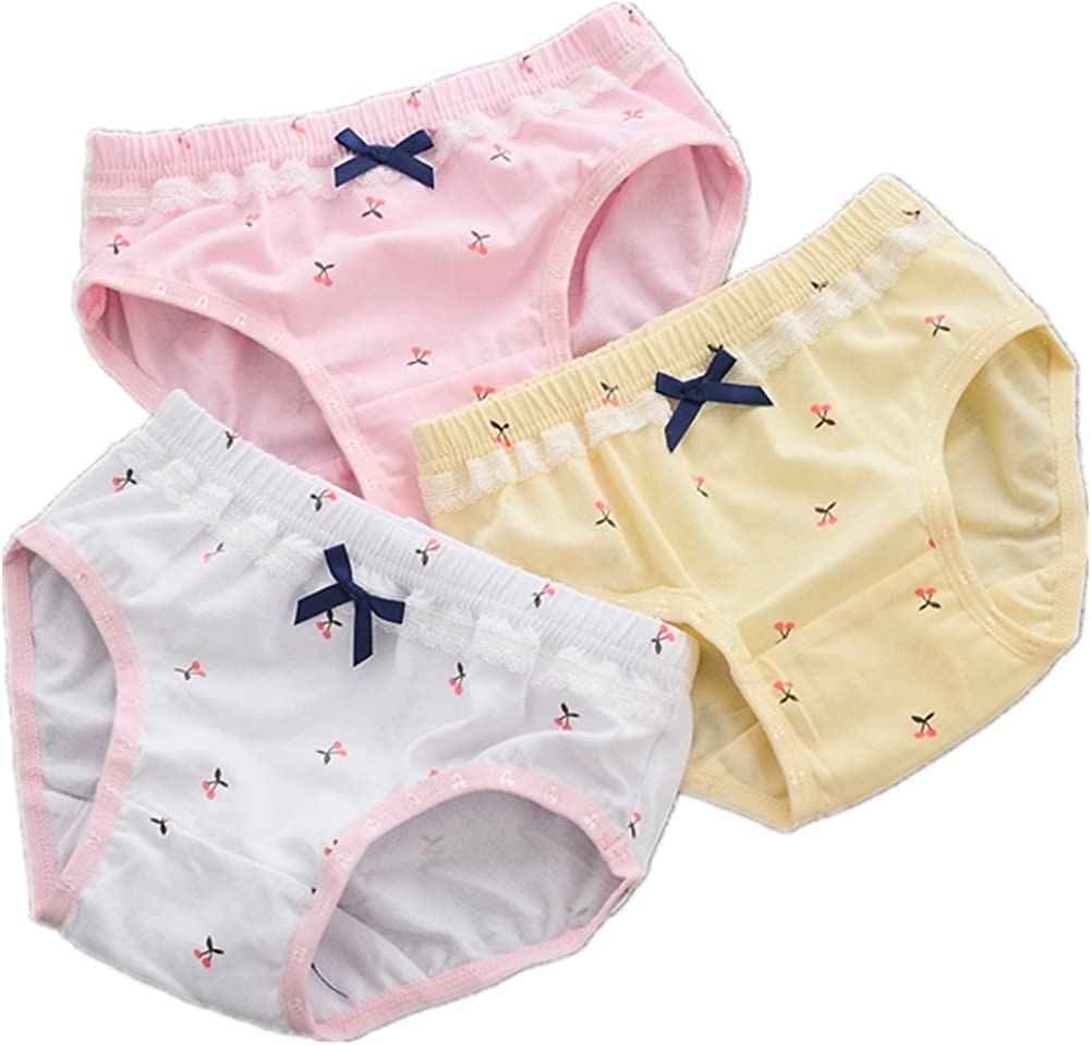 CzBonjour Girls' Fashion Brief Boyshort Toddler Cheap mail order specialty store Panties 3-Pack New product!!