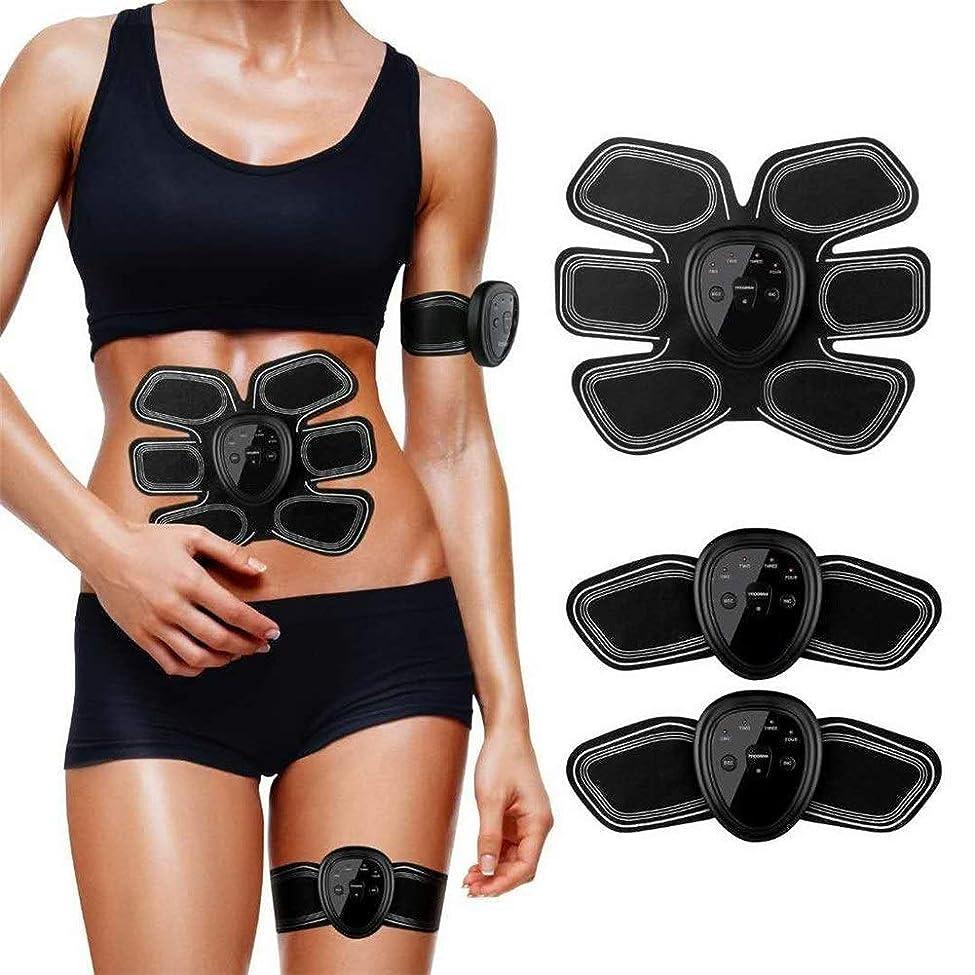 くぼみエレメンタルを通してESMK ABS筋肉刺激装置、腹部/腕/足の訓練装置のためのEmsの刺激物の腹部のABSトレーナーユニセックスマッサージの調子を整えるベルト