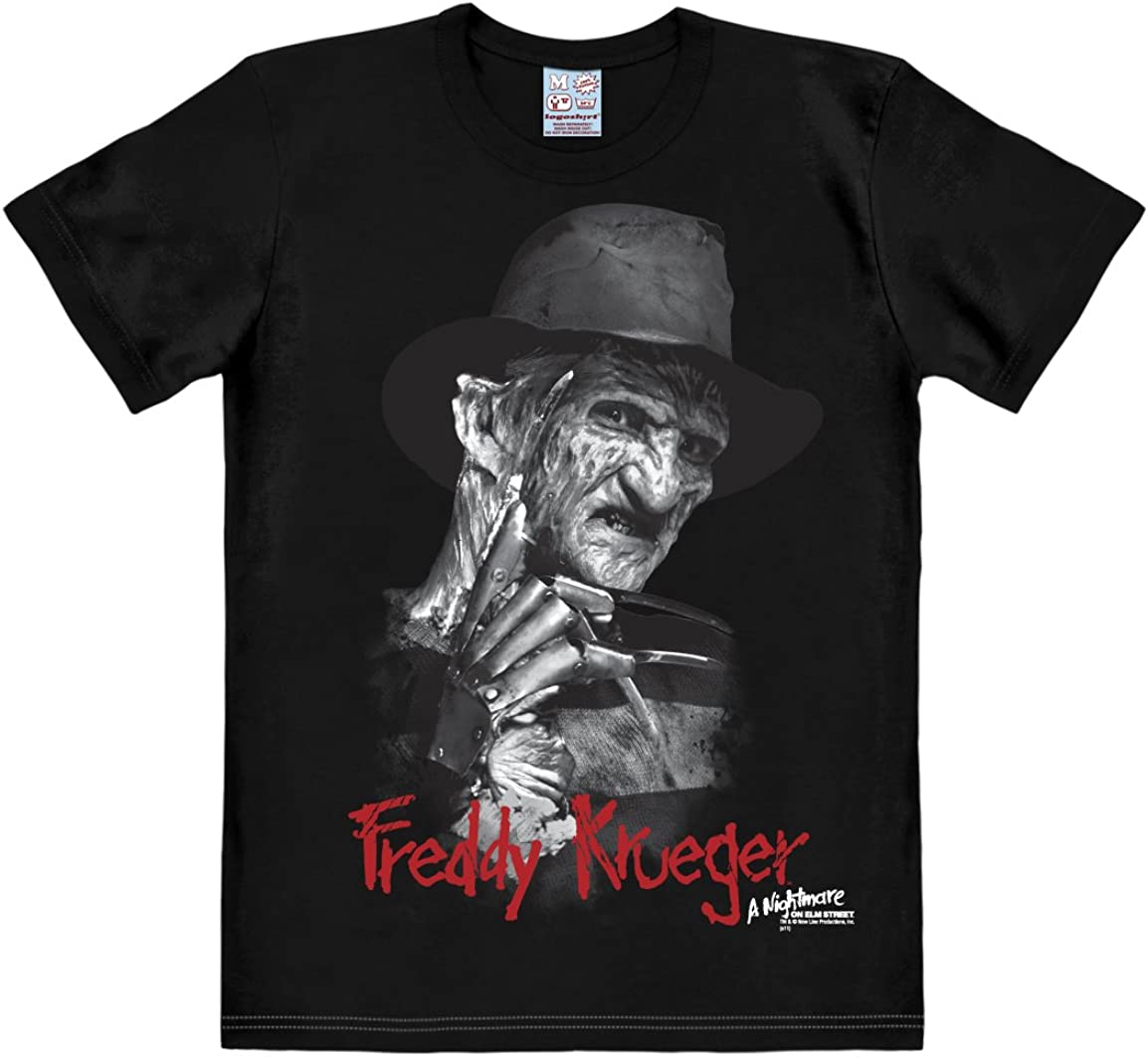 Logoshirt Nightmare On ELM-Freddy Krueger Camisa para Hombre ...