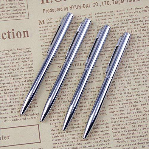 ZunBo pack of 10 metal ballpoint pens, mini pocket size ballpoint pen,...