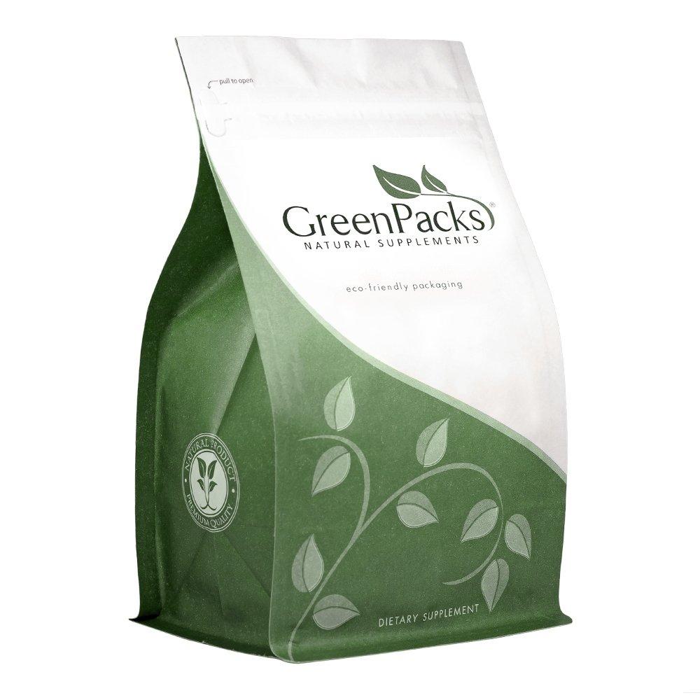 GreenPacks® Red Yeast Rice (Organic) 1200 mg. per Serving (600 mg. per Capsule) Supplement - 400 Capsules