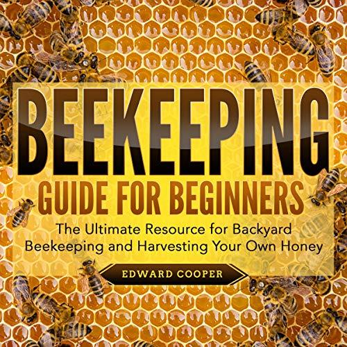 Beekeeping Guide for Beginners audiobook cover art