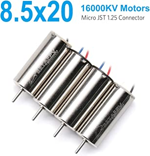 BETAFPV 4pcs 8.5×20mm Motor 16000KV Brushed Motors 2CW 2CCW with JST-1.25 Connector for Micro Whoop Beta85 Frame