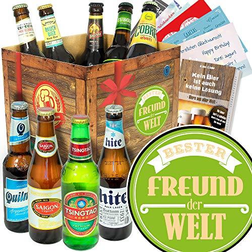 Bester Freund/Bier aus aller Welt/Geschenke Freund