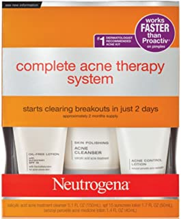 Neutrogena Complete Acne Therapy System (Pack of 2)
