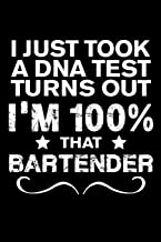 Funny Bartender Monthly Planner 2020 - 2021: Just Took A DNA Test Turns Out 100% That Bartender Funny Quotes Bartender 2 Years Planner A5 Size Schedule Calendar Views to Write in Ideas